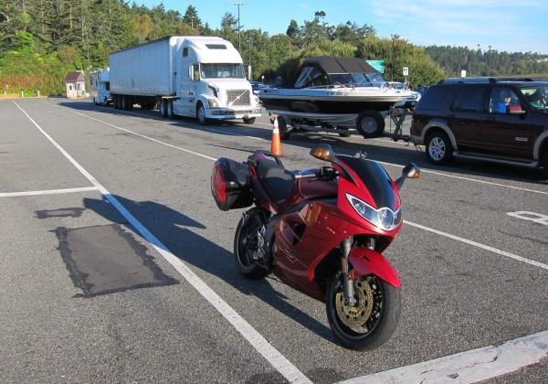 At Keystone ferry
